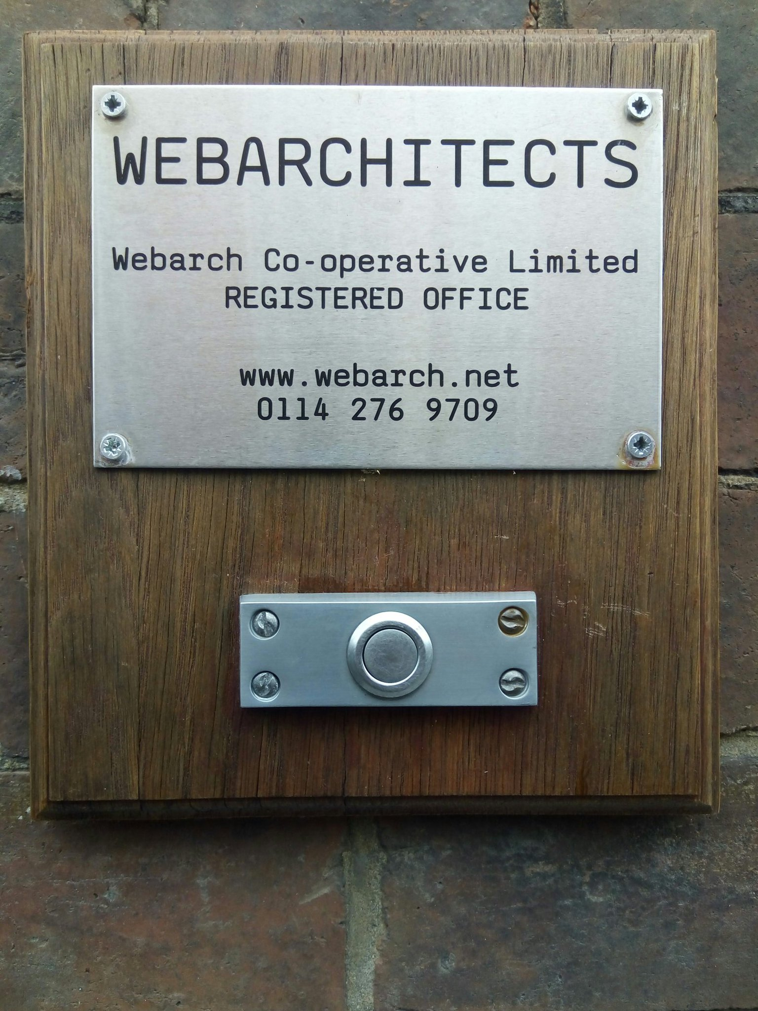 Webarchitects Nameplate